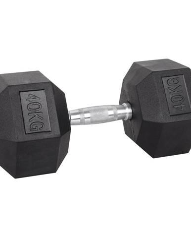Šesťhranná činka inSPORTline Hexsteel 40 kg