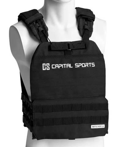 Záťažová vesta Capital Sports Battlevest 2.0 2 x 2,6 kg + 2 x 4 kg - cierna