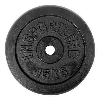 Liatinové závažie inSPORTline Castblack 15 kg