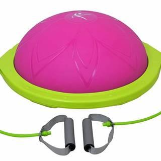 Balanční podložka LIFEFIT BALANCE BALL 60cm, růžová