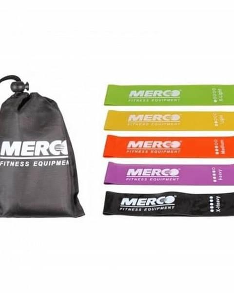 Merco Mini Band Set posilovací guma 50x5 cm, sada