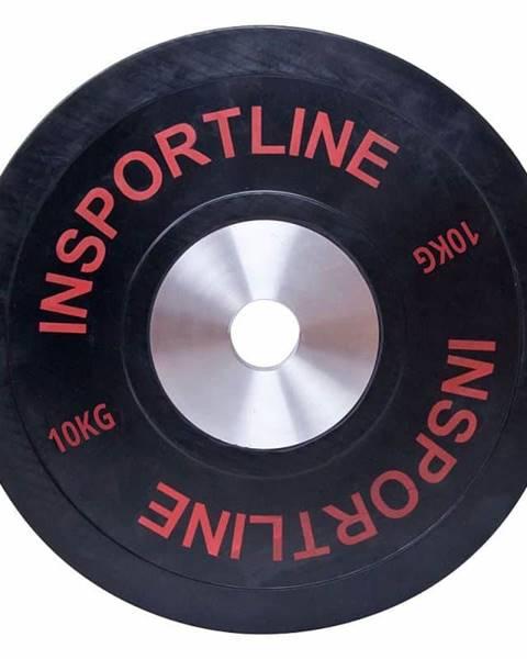 Insportline inSPORTline Gumový kotouč inSPORTline Bumper Plate 10 kg