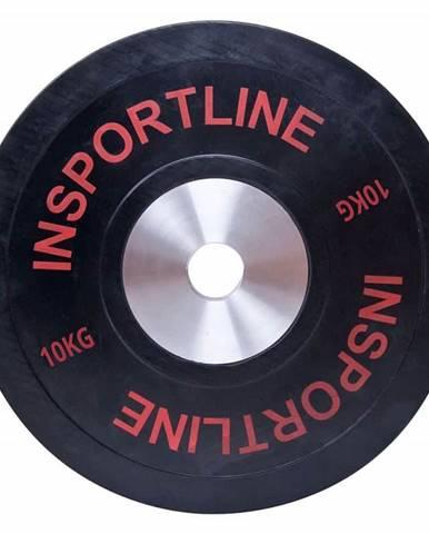 inSPORTline Gumový kotouč inSPORTline Bumper Plate 10 kg