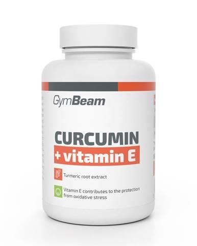 GymBeam Kurkumín + Vitamín E 90 tab.