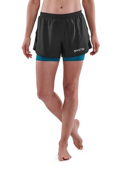 Skins SKINS Dámske šortky X-Fit Series-3 Black  XS