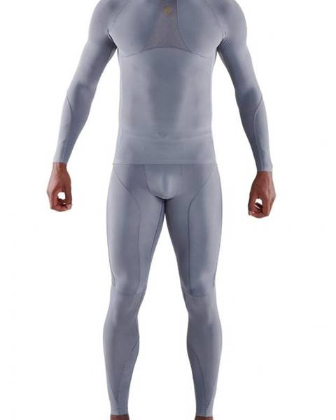 Skins SKINS Kompresné tričko Long Sleeve Series-5 Grey  S