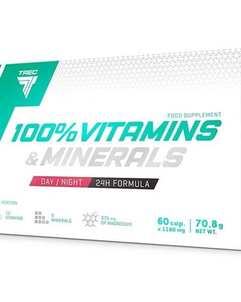Trec Nutrition 100% Vitamins & Minerals - Trec Nutrition 60 kaps.