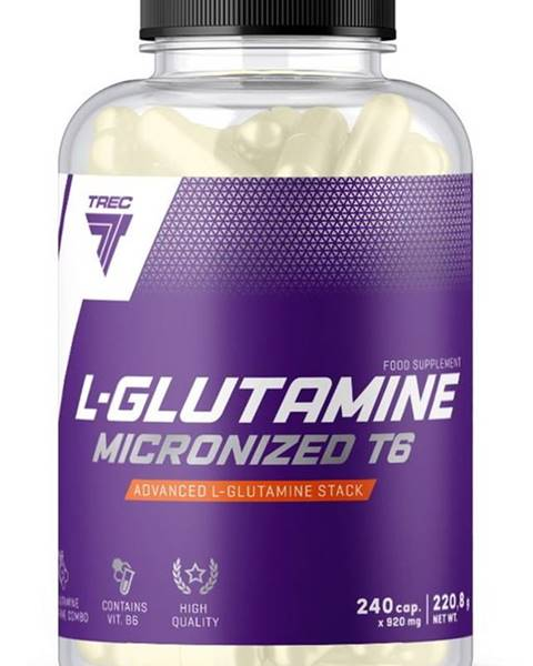 Trec Nutrition L-Glutamine Micronized T6 - Trec Nutrition 240 kaps.
