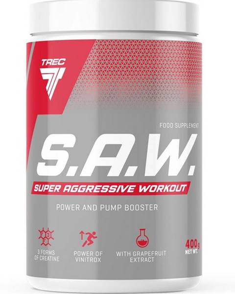Trec Nutrition S.A.W. Powder - Trec Nutrition 400 g Blackcurrant+Lemon