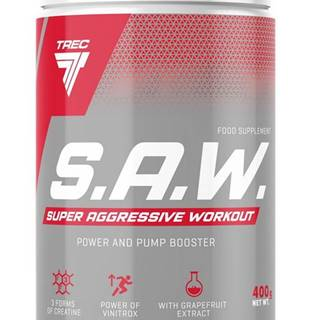 S.A.W. Powder - Trec Nutrition 400 g Blackcurrant+Lemon