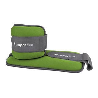 Neoprenové závažie na členok/zápästie inSPORTline Lastry 2x1 kg