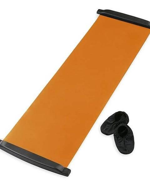 Sedco Posilovací podložka SEDCO SLIDE BOARD MAT 170x40 cm - Oranžová
