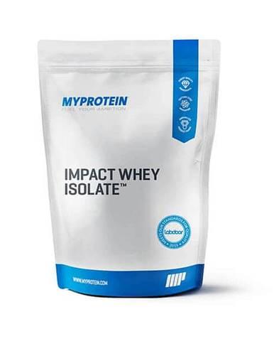 MyProtein Impact Whey Isolate Hmotnost: 2500g, Příchutě: Vanilka