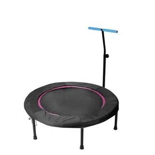 Trampolína SEDCO fitness s madlem kruhová 110 cm - Černá