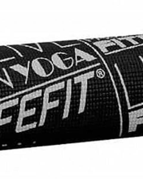 Lifefit Gymnastická podložka LIFEFIT SLIMFIT PLUS, 173x58x0,6cm, černá