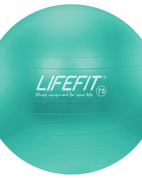 Lifefit Gymnastický míč LIFEFIT ANTI-BURST 75 cm, tyrkysový