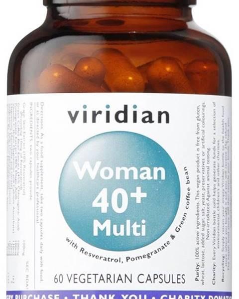 Viridian Viridian 40+ Woman Multivitamin 60 kapsúl