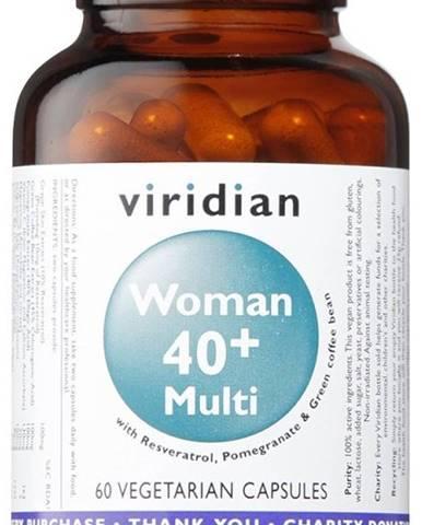 Viridian 40+ Woman Multivitamin 60 kapsúl