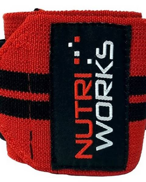 NutriWorks Nutriworks Omotávky zápästia variant: červená