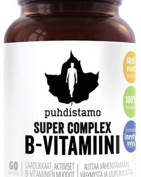 Puhdistamo Puhdistamo Super Vitamín B-Complex 60 kapsúl