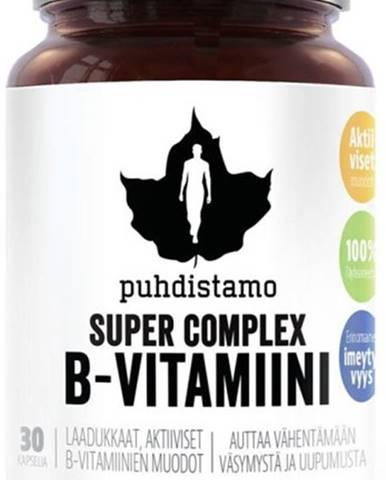 Puhdistamo Super Vitamín B-Complex 30 kapsúl