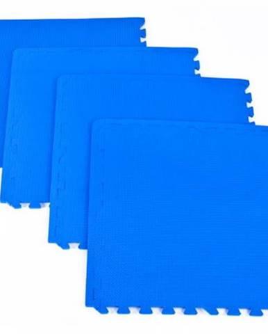Spokey scrab puzzle podložka pod fitness vybavenie 4 kusy modrá