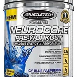 MuscleTech Neurocore Pre-Workout 222 g variant: modrá malina