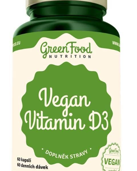 GreenFood GreenFood Vegan Vitamín D3 60 kapsúl