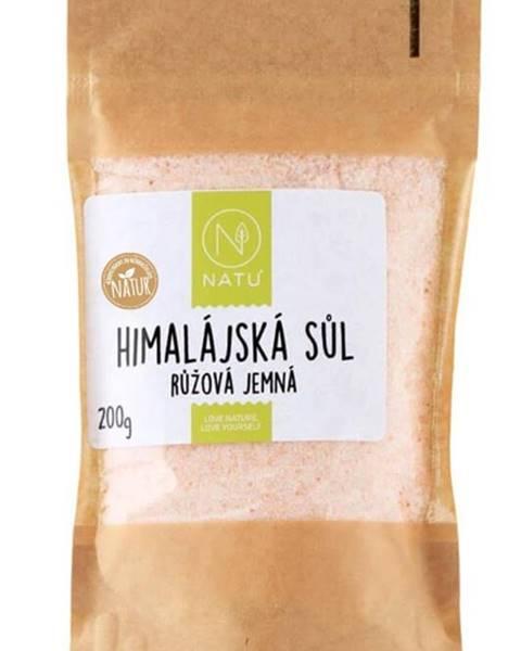 Natu Natu Himalájska ružová soľ jemná 200 g