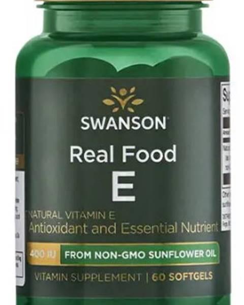 Swanson Swanson Real Food E 60 kapsúl