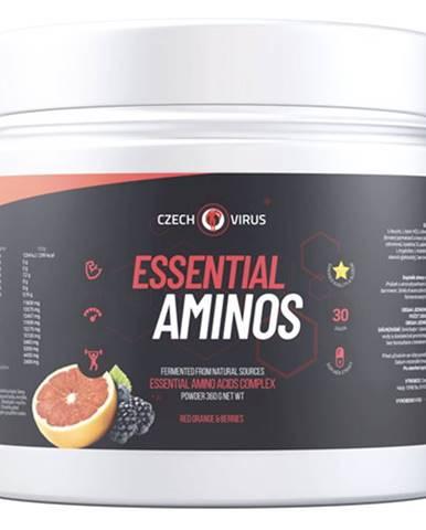 Czech Virus Essential Aminos 360 g variant: červený pomeranč - bobule