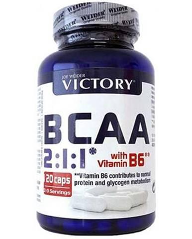 Weider BCAA 2 : 1 : 1 + Vitamín B6 120 kapsúl