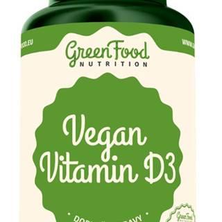 GreenFood Vegan Vitamín D3 60 kapsúl