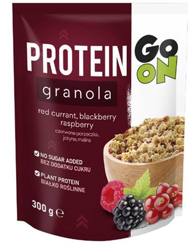 Go On Proteínová granola 300 g lieskový orech, mandle, čokoláda