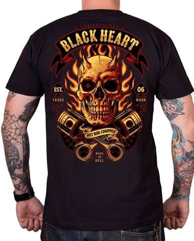 Tričko BLACK HEART Hell Boy čierna - M