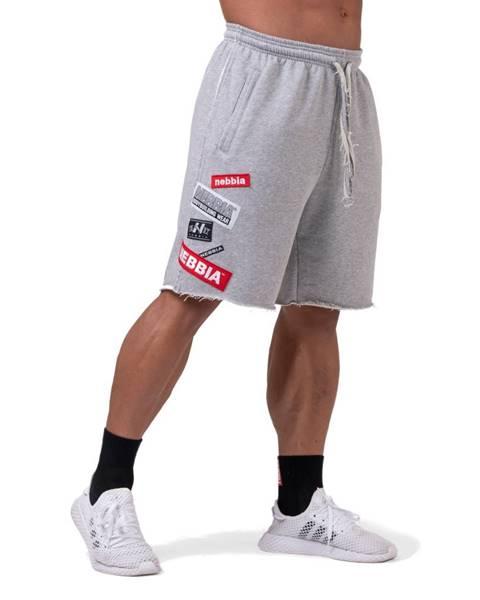 Nebbia Pánske šortky Nebbia Limitless BOYS shorts 178 Grey - M