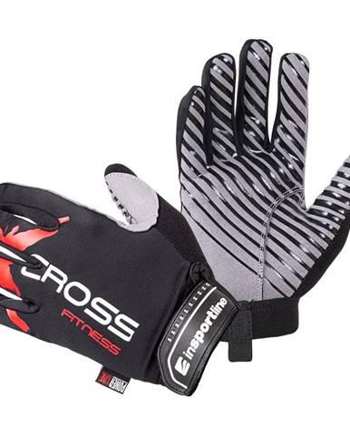 Fitness rukavice inSPORTline Freso čierno-červená - S