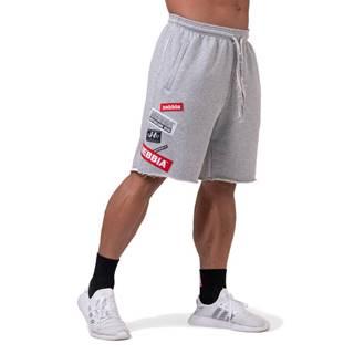 Pánske šortky Nebbia Limitless BOYS shorts 178 Grey - M