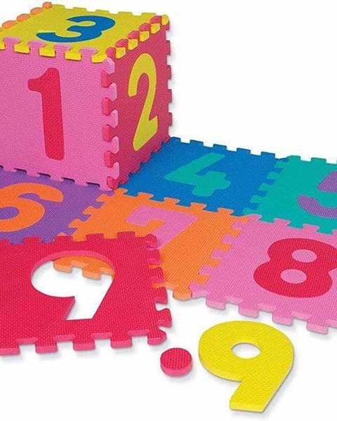 Sedco Dětská hrací podložka s čísly Sedco 30x30x1,2 cm - 12ks