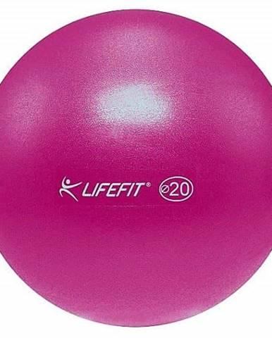 Míč OVERBALL LIFEFIT 20cm, bordó