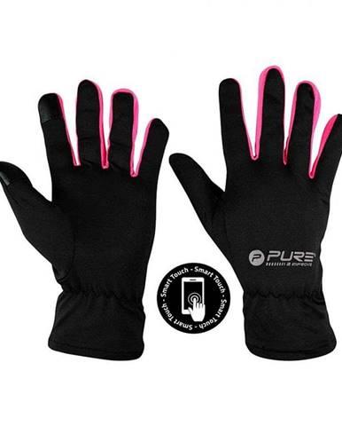 Běžecké rukavice Purre2Improve M/L růžová
