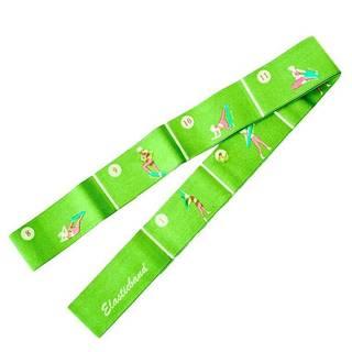 Aerobic guma ELASTIC BAND 1800 - Zelená