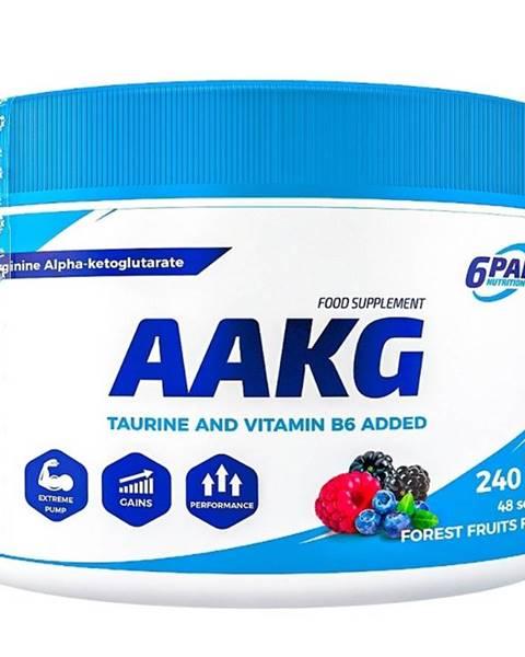 6PAK Nutrition AAKG práškové - 6PAK Nutrition 240 g Forest Fruits