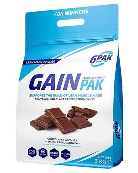 6PAK Nutrition Gain Pak - 6PAK Nutrition 3000 g Chocolate