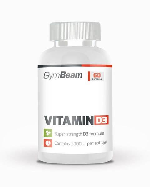 GymBeam GymBeam Vitamin D3 2000 IU 120 kaps.