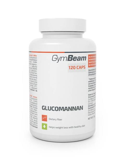 GymBeam GymBeam Glukomanán 120 tab.