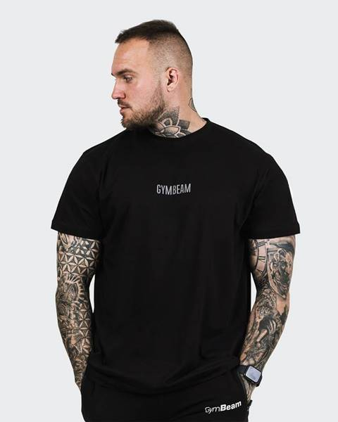 GymBeam GymBeam Tričko FIT Black  S