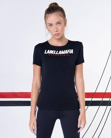LABELLAMAFIA Dámske tričko Preto Essentials Black  S
