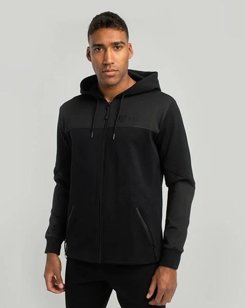 STRIX STRIX Mikina Essential Zip Up Hoodie black  S