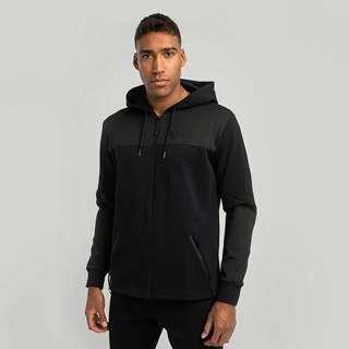 STRIX Mikina Essential Zip Up Hoodie black  S